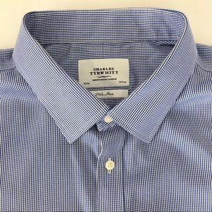 Charles Tyrwhitt French Cuff Dress Shirt Size 20